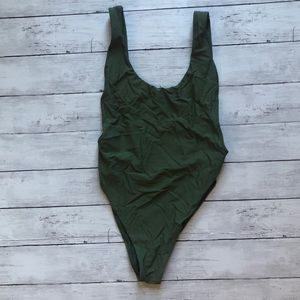 Aerie Olive Green One Piece